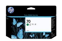 Оригинални мастила и глави за широкоформатни принтери » Мастило HP 70, Green (130 ml)