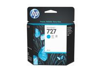 Оригинални мастила и глави за широкоформатни принтери » Мастило HP 727, Cyan (40 ml)
