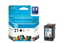 Оригинални мастила и глави за мастиленоструйни принтери » Касета HP 21, Black