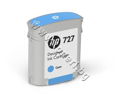 B3P13A Мастило HP 727, Cyan (40 ml)