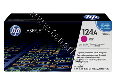 Q6003A Тонер HP 124A за 1600/2600, Magenta (2K)