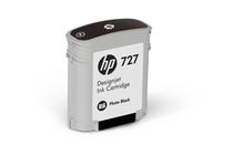 Оригинални мастила и глави за широкоформатни принтери » Мастило HP 727, Photo Black (40 ml)