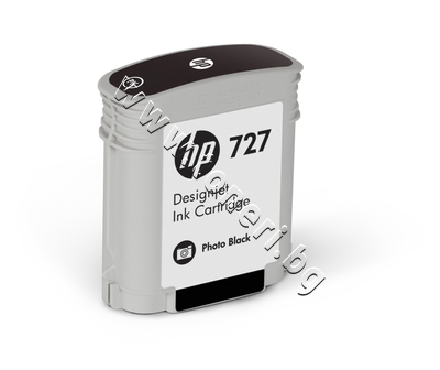 B3P17A Мастило HP 727, Photo Black (40 ml)