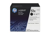 Оригинални тонер касети и тонери за лазерни принтери » Тонер HP 51X за P3005/M3027/M3035 2-pack (2x13K)