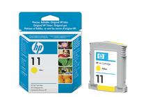 Оригинални мастила и глави за широкоформатни принтери » Мастило HP 11, Yellow (28 ml)