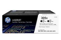 Оригинални тонер касети и тонери за цветни лазерни принтери » Тонер HP 305X за M375/M451/M475 2-pack, Black (2x4K)