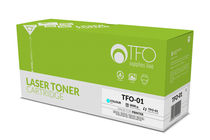 Съвместими тонер касети и тонери за цветни лазерни принтери » TF1 Тонер Q6001A HP 124A за 1600/2600, Cyan (2K)