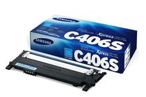 Оригинални тонер касети и тонери за цветни лазерни принтери » Тонер Samsung CLT-C406S за SL-C410/C460, Cyan (1K)