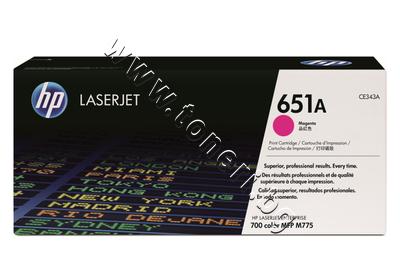 CE343A Тонер HP 651A за M775, Magenta (16K)