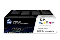 Оригинални тонер касети и тонери за цветни лазерни принтери » Тонер HP 131A за M251/M276 3-pack, 3 цвята (3x1.8K)