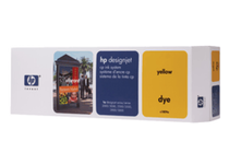 Оригинални мастила и глави за широкоформатни принтери » Комплект за DJ CP Dye, Yellow (410 ml)