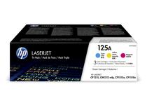 Оригинални тонер касети и тонери за цветни лазерни принтери » Тонер HP 125A за CP1215/CM1312 3-pack, 3 цвята (3x1.4K)