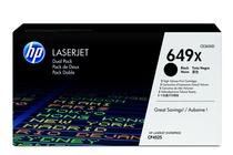 Оригинални тонер касети и тонери за цветни лазерни принтери » Тонер HP 649X за CP4525 2-pack, Black (2x17K)