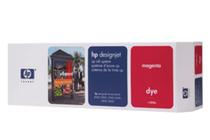 Оригинални мастила и глави за широкоформатни принтери » Комплект за DJ CP Dye, Magenta (410 ml)