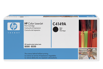 Оригинални тонер касети и тонери за цветни лазерни принтери » Тонер HP за 8500/8550, Black (17K)