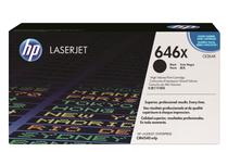 Оригинални тонер касети и тонери за цветни лазерни принтери » Тонер HP 646X за CM4540, Black (17K)