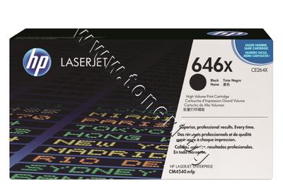 CE264X Тонер HP 646X за CM4540, Black (17K)
