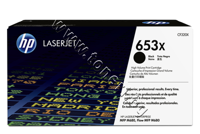 CF320X Тонер HP 653X за M680, Black (21K)