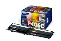 Оригинални тонер касети и тонери за цветни лазерни принтери » Тонер Samsung CLT-P406C за SL-C410/C460 4-pack, 4 цвята (4.5K)
