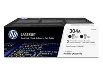 Оригинални тонер касети и тонери за цветни лазерни принтери » Тонер HP 304A за CP2025/CM2320 2-pack, Black (2x3.5K)