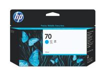 Оригинални мастила и глави за широкоформатни принтери » Мастило HP 70, Cyan (130 ml)