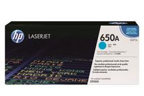 Оригинални тонер касети и тонери за цветни лазерни принтери » Тонер HP 650A за CP5525/M750, Cyan (15K)