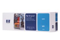 Оригинални мастила и глави за широкоформатни принтери » Комплект за DJ CP UV, Cyan (410 ml)