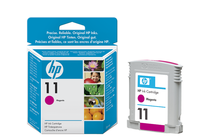 Оригинални мастила и глави за широкоформатни принтери » Мастило HP 11, Magenta (28 ml)