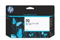 Оригинални мастила и глави за широкоформатни принтери » Мастило HP 70, Light Cyan (130 ml)