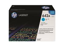 Оригинални тонер касети и тонери за цветни лазерни принтери » Тонер HP 642A за CP4005, Cyan (7.5K)