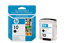 Оригинални мастила и глави за широкоформатни принтери » Мастило HP 10, Black (69 ml)