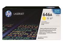 Оригинални тонер касети и тонери за цветни лазерни принтери » Тонер HP 646A за CM4540, Yellow (12.5K)