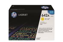 Оригинални тонер касети и тонери за цветни лазерни принтери » Тонер HP 642A за CP4005, Yellow (7.5K)