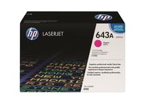 Оригинални тонер касети и тонери за цветни лазерни принтери » Тонер HP 643A за 4700, Magenta (10K)