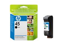 Оригинални мастила и глави за мастиленоструйни принтери » Касета HP 45, Black