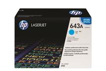 Оригинални тонер касети и тонери за цветни лазерни принтери » Тонер HP 643A за 4700, Cyan (10K)