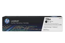 Оригинални тонер касети и тонери за цветни лазерни принтери » Тонер HP 126A за CP1025/M175/M275 2-pack, Black (2x1.2K)
