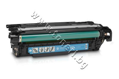 CF321A Тонер HP 653A за M680, Cyan (16.5K)
