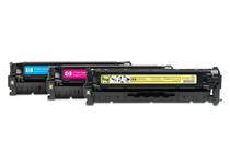 Оригинални тонер касети и тонери за цветни лазерни принтери » Тонер HP 304A за CP2025/CM2320 3-pack, 3 цвята (3x2.8K)