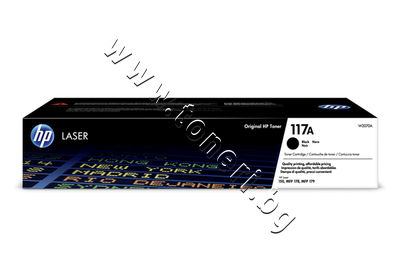 W2070A Тонер HP 117A за 150/178/179, Black (1K)