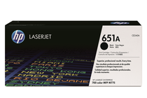 Оригинални тонер касети и тонери за цветни лазерни принтери » Тонер HP 651A за M775, Black (13.5K)