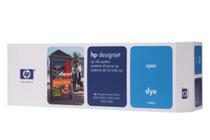 Оригинални мастила и глави за широкоформатни принтери » Комплект за DJ CP Dye, Cyan (410 ml)
