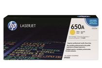 Оригинални тонер касети и тонери за цветни лазерни принтери » Тонер HP 650A за CP5525/M750, Yellow (15K)