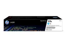 Оригинални тонер касети и тонери за цветни лазерни принтери » Тонер HP 117A за 150/178/179, Cyan (0.7K)