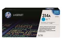Оригинални тонер касети и тонери за цветни лазерни принтери » Тонер HP 314A за 2700/3000, Cyan (3.5K)