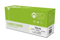 Съвместими тонер касети и тонери за цветни лазерни принтери » TF1 Тонер Q6002A HP 124A за 1600/2600, Yellow (2K)