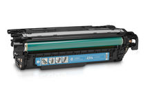 Оригинални тонер касети и тонери за цветни лазерни принтери » Тонер HP 654A за M651, Cyan (15K)
