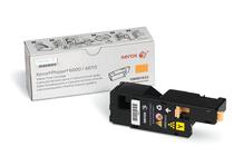 Оригинални тонер касети и тонери за цветни лазерни принтери » Тонер Xerox 106R01633 за 6000/6010/6015, Yellow (1K)