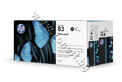 C5000A Комплект HP 83, Black (680 ml)