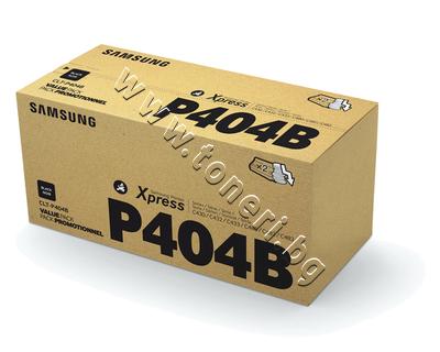 SU364A Тонер Samsung CLT-P404B за SL-C430/C480 2-pack, Black (2x1.5K)